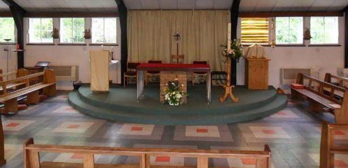 Altar, St James RC Church, Tiverton, Devon